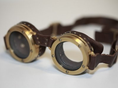 Ww2 Aviator Goggles Ww2-era aviator goggles.