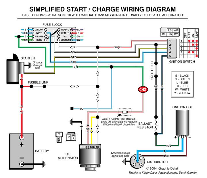 Nissan 1400 Alternator Wiring Diagram : Other useful automotive resources